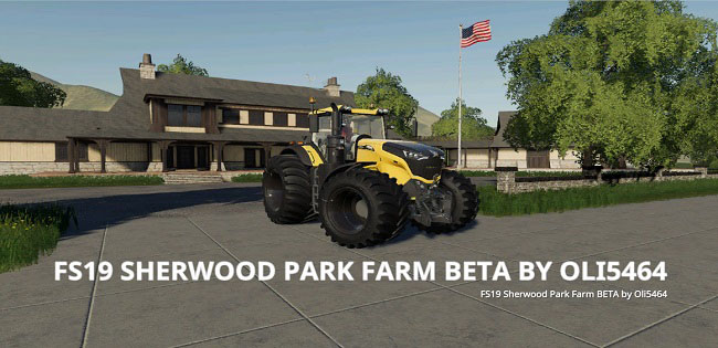 Карта Sherwood Park Farm v3.0 для FS19 (1.3.x)