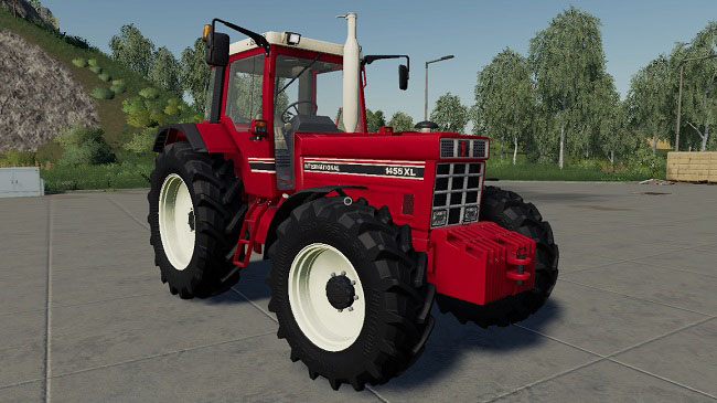 Мод Case IH International 1455/1255 v1.0 для FS19 (1.2.x)