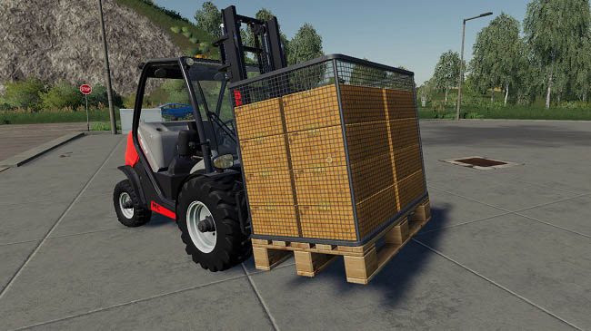 Мод Purchasable Egg Pallet v1.0 для FS19 (1.2.x)