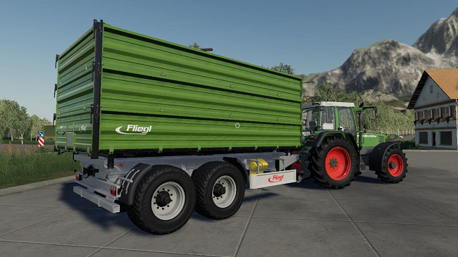 Мод Fliegl Trailer Pack v1.0 для FS19 (1.2.x)