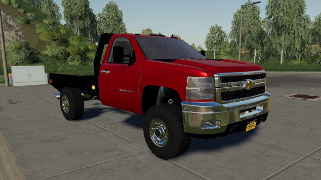 Мод 2010 Chevy Silverado 2500HD v1.0 для FS19 (1.2.x)