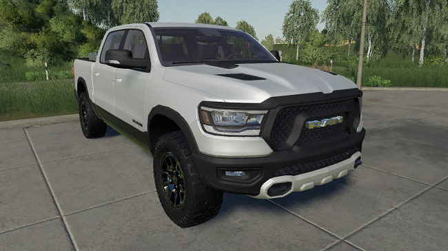 Мод Dodge Ram 1500 Rebel v1.1 для FS19 (1.2.x)