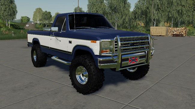 Мод Ford F150 1985 v1 0 для FS19 (1 2 x) » Моды для игр про