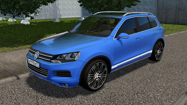 Мод Volkswagen Touareg для City Car Driving (1.5.7)