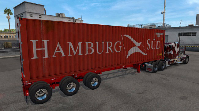 Мод Trailers Cheetah Container 40 v2.0 для ATS (1.33.x)