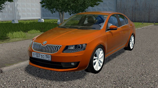 Мод Skoda Octavia 1.6 TDI для City Car Driving (1.5.9)