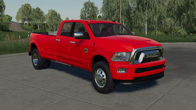 Мод Dodge Ram 3500 heavy duty v1.0 для FS19 (1.2.x)