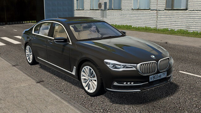 Мод BMW 7-series 2016 для City Car Driving (1.5.7)