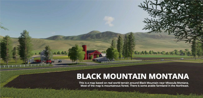 Мод Black Mountain Montana v3.0 для FS19 (1.5.x)