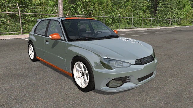 Мод 2009 Hirochi Sunburst 5-door Hatchback v1.14 для BeamNG.drive (0.15)