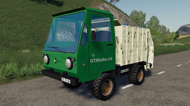 Мод IFA Multicar feed mixer v1.0 для FS19 (1.2.x)