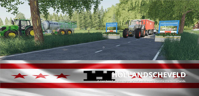 Карта Hollandscheveld map v1.0 для FS19 (1.2.x)
