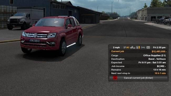Мод Non Trailer Cargo Pack v1.0 для ATS (1.34.x)