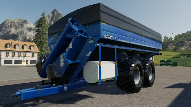 Мод Brent 1594 Grain Cart v2.0 для FS19 (1.2.x)