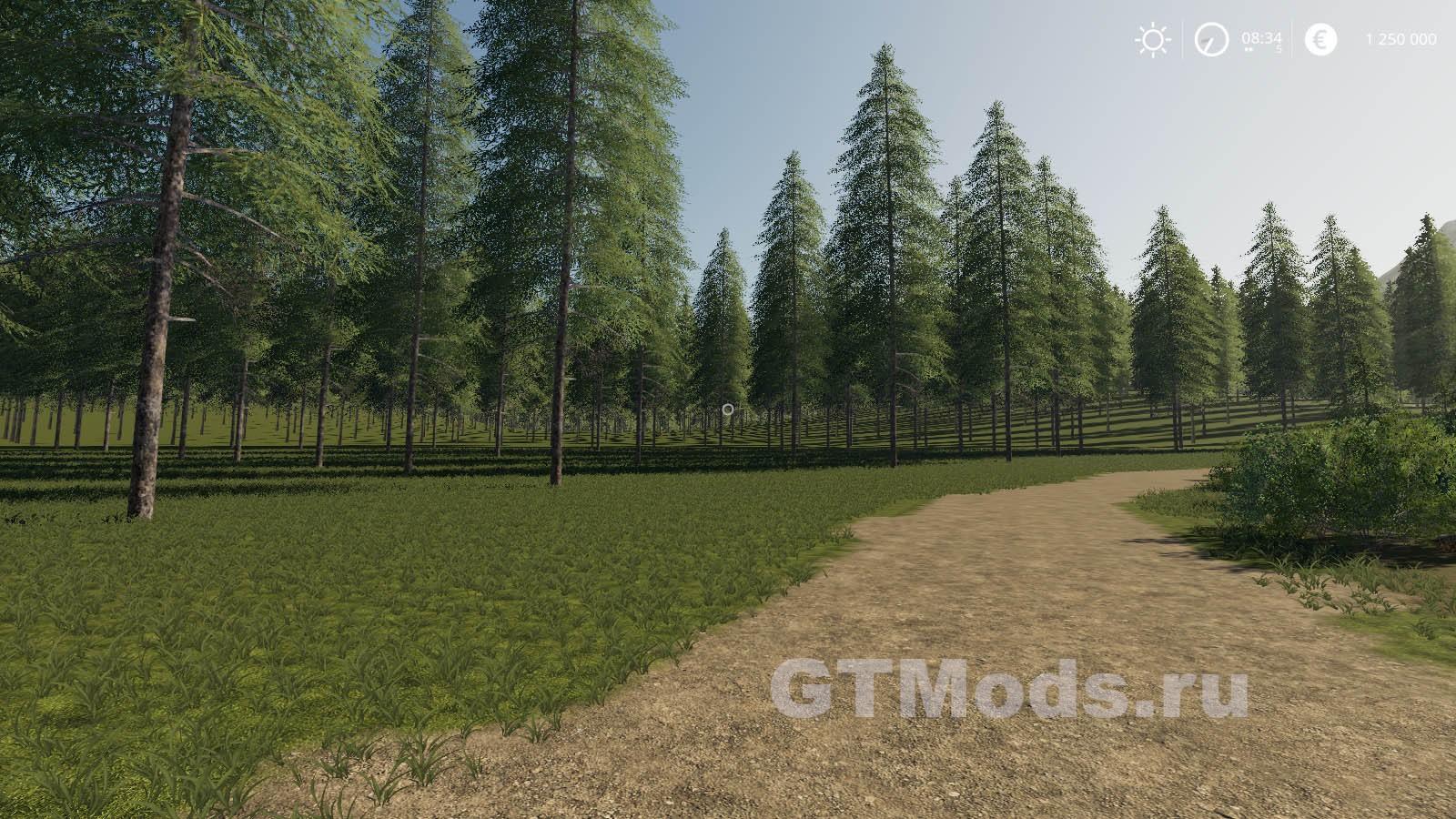 Карта Forestry / Logging Map v1 0 для FS19 (1 2 x) » Моды