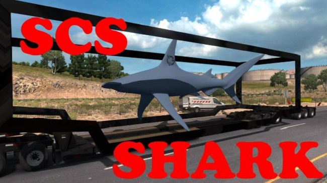 Мод SCS Shark Aquarium Special Transport для ATS (1.34.x)