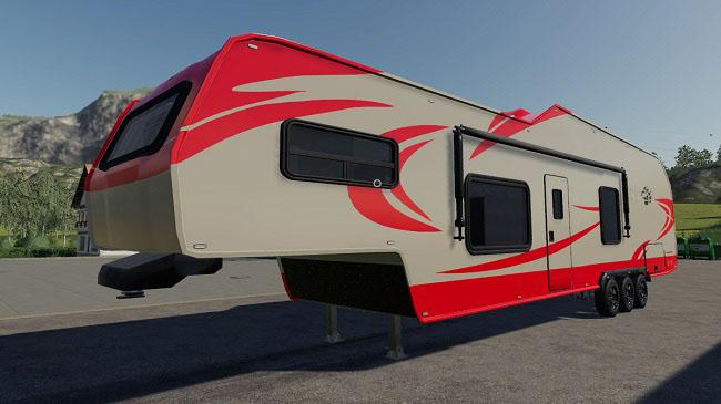 Мод Adak Off Road Camper v1 0 для FS19 (1 2 x) » Моды для