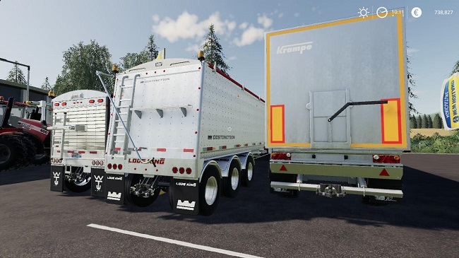 Мод Trailers Pack by Stevie v1.0 для FS19 (1.2.x)