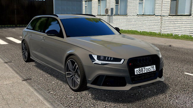 Мод Audi RS6 Avant bulkin v2.0 для City Car Driving (1.5.8)