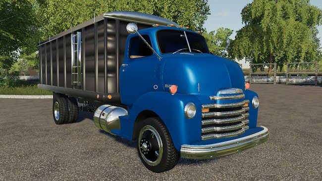 Мод 1948 Chevy Grain Truck v1.0 для FS19 (1.2.x)