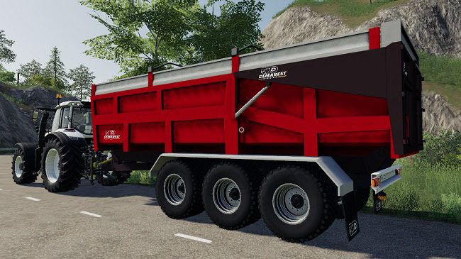 Мод Demarest24T GDM v1.0 для FS19 (1.2.x)