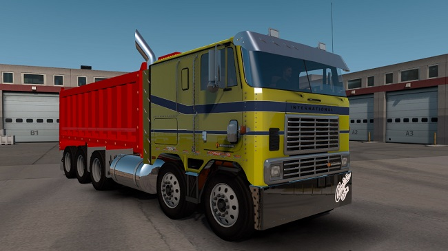 Мод International 9700 Tipper v2.5 для ATS (1.34.x)