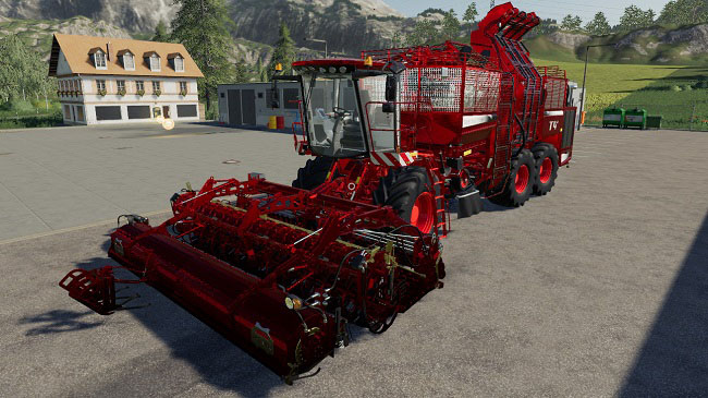 Мод Holmer pack for potatoes and sugar beets v1.0 для FS19 (1.2.x)