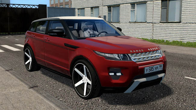 Мод Range Rover Evoque 2014 2.0 для City Car Driving (1.5.7)
