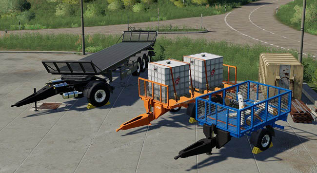 Мод Fliegl BPT Pack v1.0.1.0 для FS19 (1.3.x)