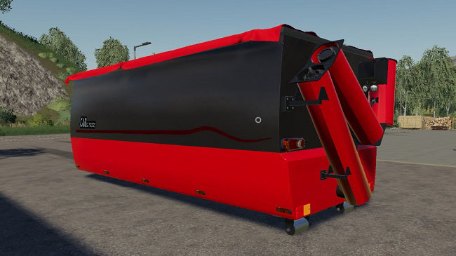 Мод Peecon hooklift Auger Container v1.0 для FS19 (1.2.x)