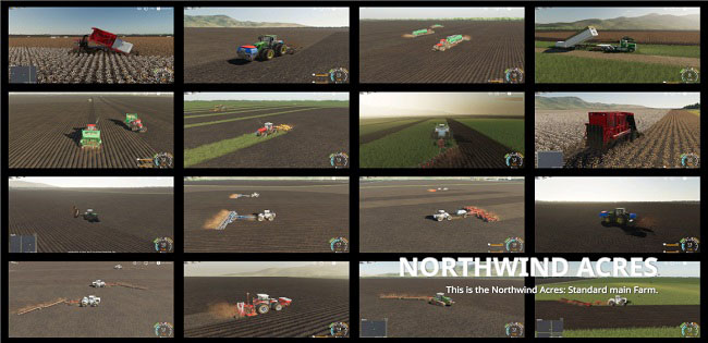 Карта Northwind Acres v3.0.1.1 для FS19 (1.4.x)
