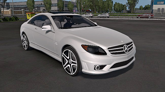 Мод Mercedes-Benz CL65 AMG для ETS 2 (1.34.x)