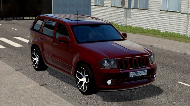Мод Jeep Grand Cherokee SRT8 для City Car Driving (1.5.7)
