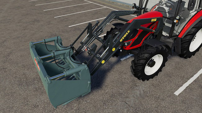 Мод Stoll Super 1 With Stoll Tools v1.0.0.1 для FS19 (1.3.x)
