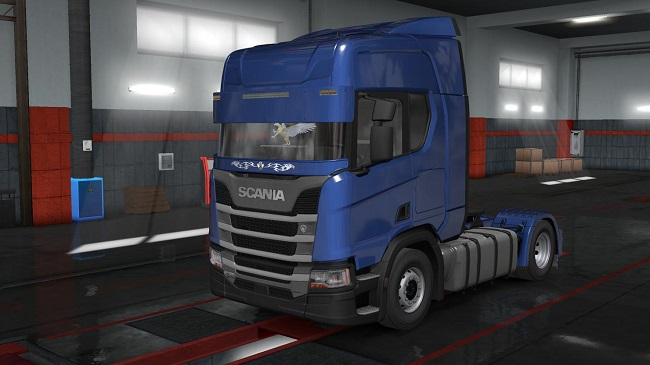 Мод Scania R & S Parts v1.9 для ETS 2 (1.35.x)
