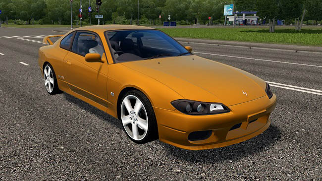 Мод Nissan Silvia S15 для City Car Driving (1.5.9)