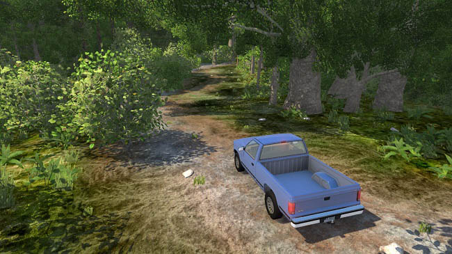 Карта Wilderness - Lost in the forest v1.2 для BeamNG.drive (0.15)