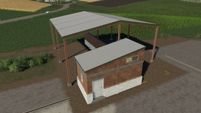 Мод Bale Sell Point And Storage v1.0.0.1 для FS19 (1.3.x)