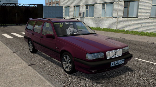 Мод Volvo 850 Estate 1997 для City Car Driving (1.5.7)