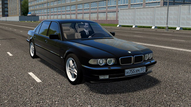 Мод BMW 750iL (E38) для City Car Driving (1.5.7)