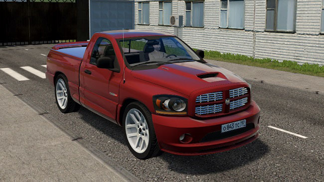 Мод Dodge Ram SRT-10 для City Car Driving (1.5.7)