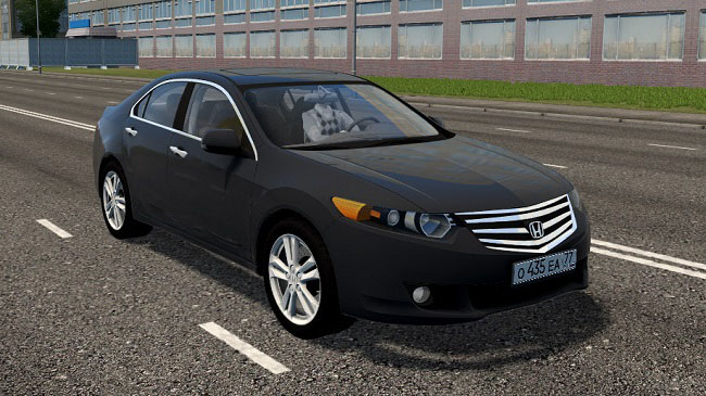 Мод Honda Accord 2011 для City Car Driving (1.5.7)