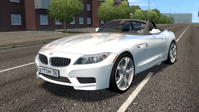Мод BMW Z4 sDrive28i 2012 для City Car Drivivng (1.5.7)