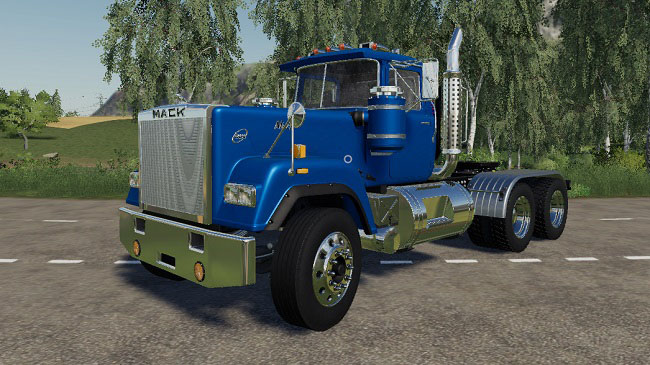 Мод Mack Superliner Dump and Trailer v1.0.0.5 для FS19 (v1.3.x)