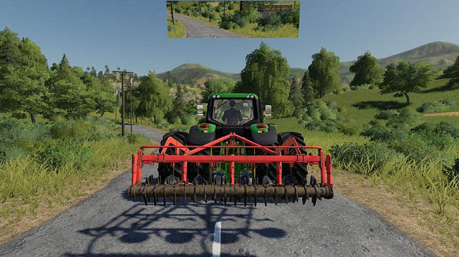 Мод Rearview Mirror v1.0 для FS19 (1.3.x)