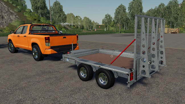 Мод Ifor Williams GX126 v1.0 для FS19 (1.3.x)