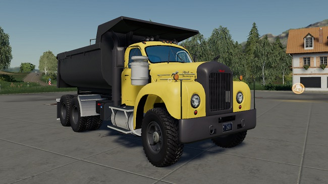 Мод Mack B61 Dump and Trailer v1.0.0.5 для FS19 (1.3.x)