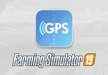 Мод Скрипт GPS mod RUS v1.0.0.0 для Farming Simulator 2019 (1.3.x)