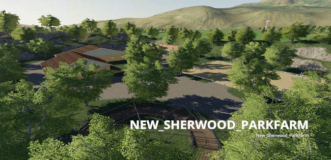 Карта New Sherwood Park Farm v1.0 для FS19 (1.3.x)