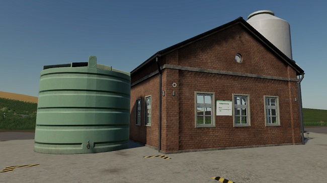 Мод Placeable Lime Production with Level Indicators v1.0 для FS19 (1.3.x)